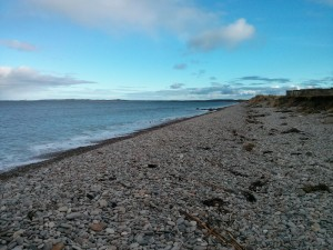 Findhorn beach looking East