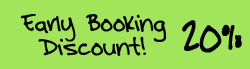 Book early and get a 20% discount